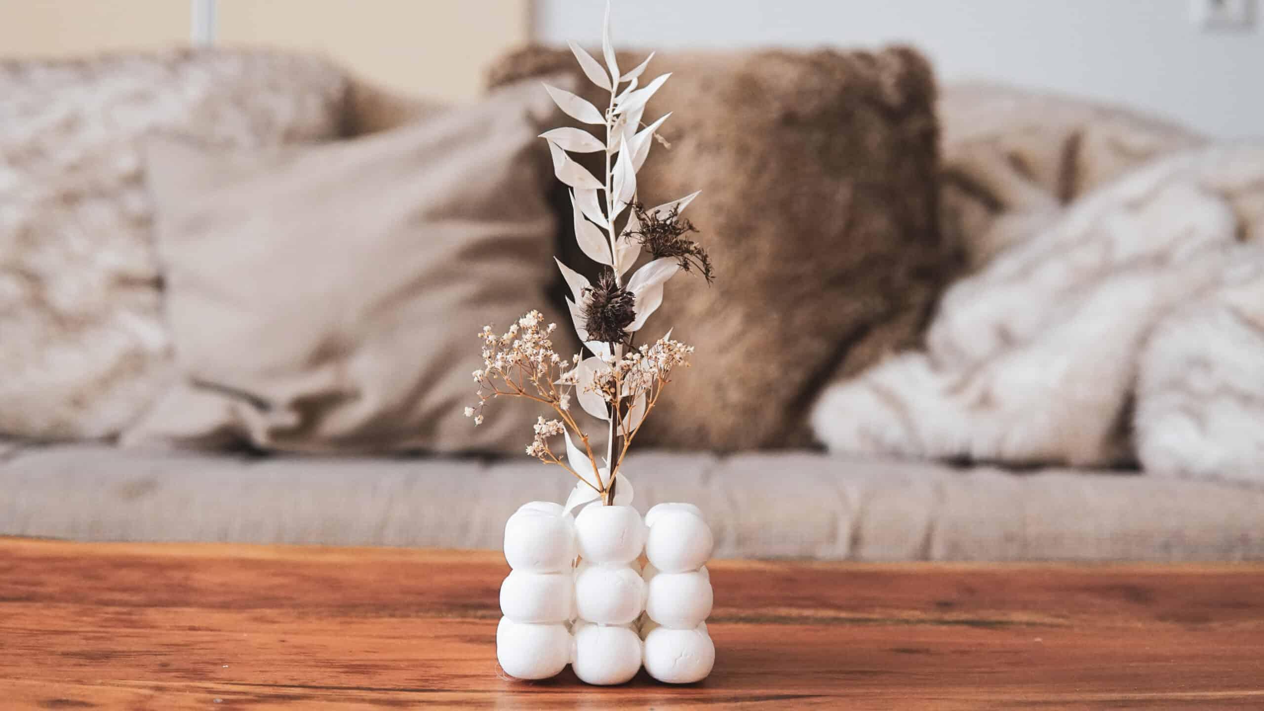 Bubble Vase aus FIMO